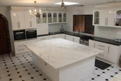 2 PAC - Marble & Caesarstone